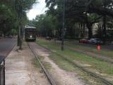 町のなかを走る電車も風情がありました