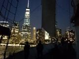 ハドソンからのマンハッタンはキラキラ輝いていました。。