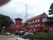 マラッカの有名な広場