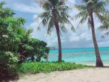 マニャガハ島の浜辺