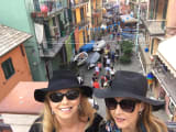 Fun in the sun on Vernazza.