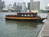 リバータクシーでの船旅もあり!