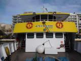 こんな船です レゲェが流れててみんな陽気で楽しそう