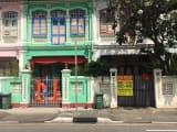 可愛いカトンのクーン セン ロードプラナカン様式の建物