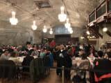 岩塩坑のレストラン。空腹が頂点に!