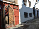 The entrance of El Templo del Flamenco