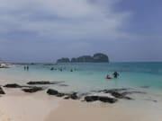とってもキレイだったバンブー島のビーチ