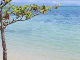 ヒルドュガン島の綺麗な海!