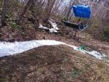4月の残雪