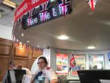 「The Original London ビジターセンター」チェックインカウンター