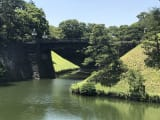 Twin bridges by imperial palace