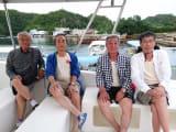 72歳の呑み助4人組です。
