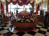 バージュ・アル・アラブでのランチ、豪華なアラブ料理です。
