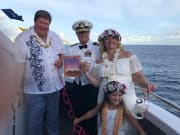 Amazing vow renewal by the Captain