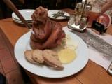 豚の膝の肉