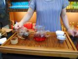 台湾といえばお茶 東方美人茶、高山烏龍茶をいただきました