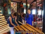 伝統楽器の演奏体験!?
