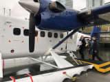 17人ぐらい乗れる飛行機です。