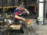ベネチアンガラスマイスターの技