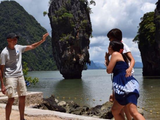 June Bahtra Phang Nga Bay Lunch Cruise With James Bond