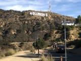 ハリウッドサイン。近くで撮れました!