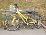 お借りした自転車です。