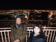ストラトスフィアタワーでの夜景