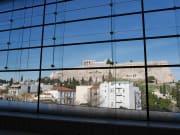 アクロポリス博物館からの眺め