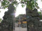 ウルワツ寺院の一部