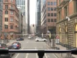 View from the bus