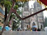 シクロからみえる大教会