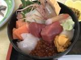 美味しい海鮮丼