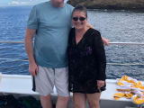 Happy on the Molokini! Thanks Four Winds II