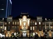 解散後の東京駅