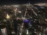 エンパイアステートビルからの夜景