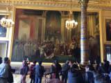 圧倒されたベルサイユ宮殿