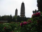 太原の双塔寺
