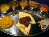 インド料理は辛くなくて美味しかった