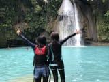 最後はカワサン滝でツアーの締めくくり!