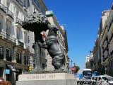 マドリッド市の紋章の熊
