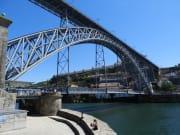 ドン・ルイス1世橋をこれから渡ります