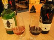 サンデマンでのポートワインの試飲