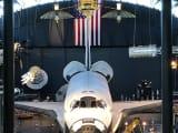 身近で見れますスペースシャトル