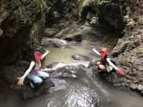 一番思い出の場所です!岩に捕まったり、水に浸かったり自然に触れ合いながら素敵な景色が見れました!