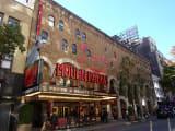 劇場の入り口付近