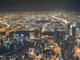 152階のオープンデッキからの夜景