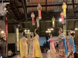 Lanna style traditional dance