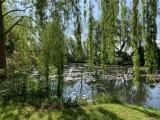 モネの世界そのもののお庭でした。