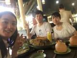 ベトナムの郷土料理、魚料理を楽しみました