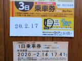 沖縄路線バス3日間周遊パスゆいレールプラス
